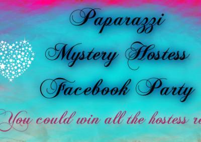 Paparazzi Mystery Hostess facebook cover photo