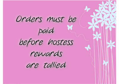 Hostess Rewards Paparazzi