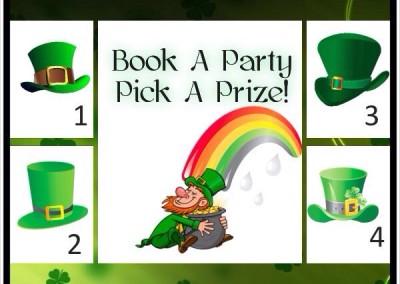 St Patrick Book a Paparazzi Party