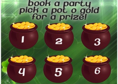 Book A Party St Patricks Day