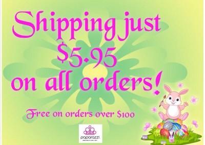 Paparazzi Shipping Easter Theme
