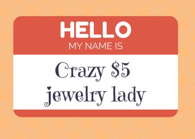 Crazy Paparazzi Jewelry Lady