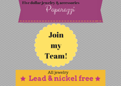 Join My Paparazzi Team