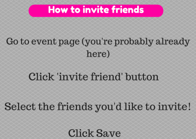 Invite friends to a Paparazzi Facebook Party