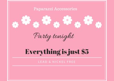 Paparazzi $5 Jewelry Party