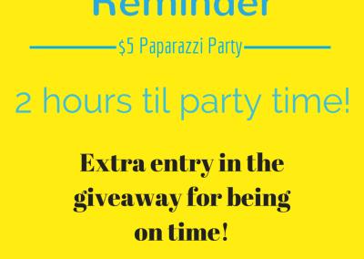 Facebook Paparazzi Party