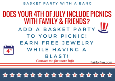 Paparazzi Basket Party 4th of July