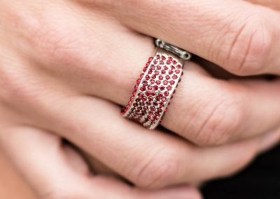 Paparazzi Ring- Brand SPARKLING New – Red