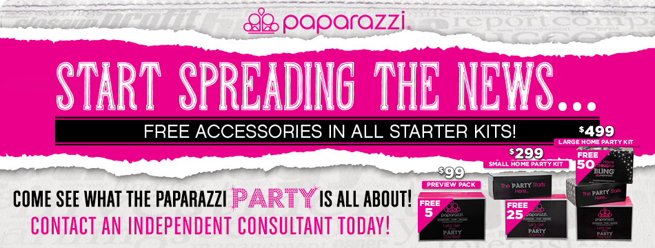 Free Accessories for new Paparazzi consultants!