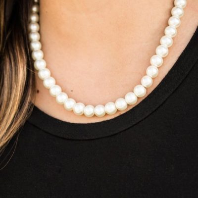 Not Your Mamas Pearls - White