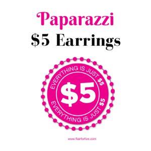 Paparazzi $5 Earrings