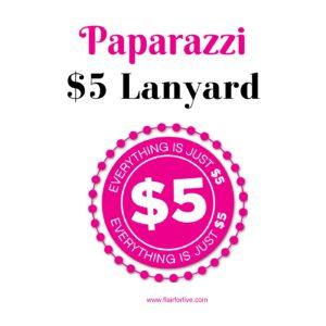 Paparazzi $5 Lanyard