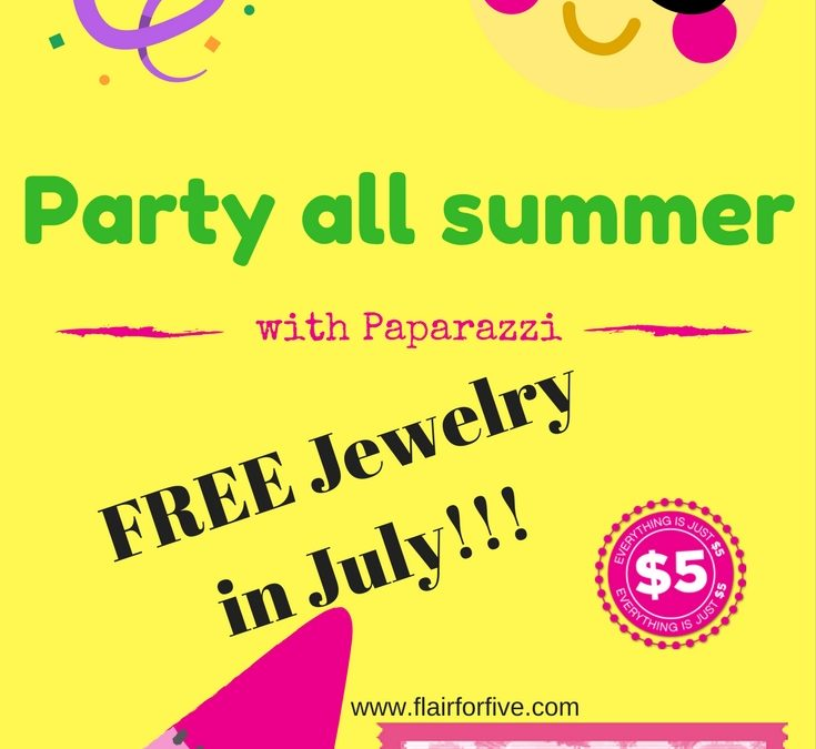 Join Paparazzi – July Special