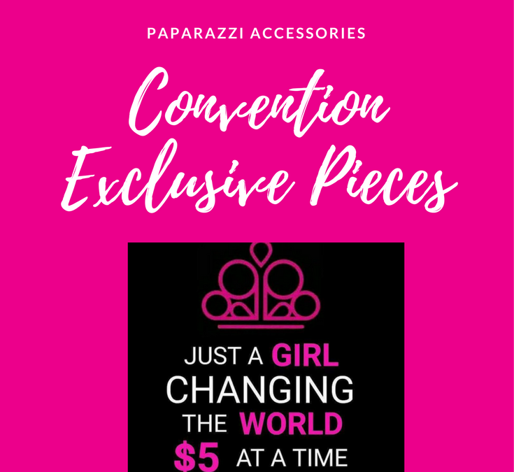 Paparazzi Accessories Convention Exclusive Pieces