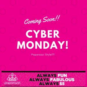 Paparazzi Cyber Monday!!
