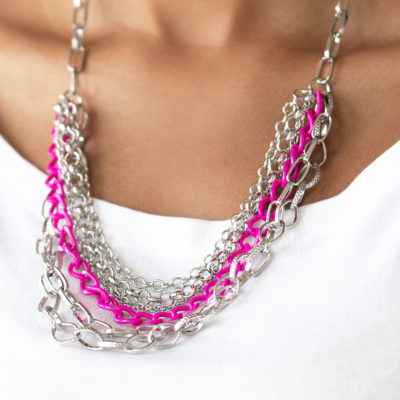 Color Bomb - Pink - Paparazzi Accessories