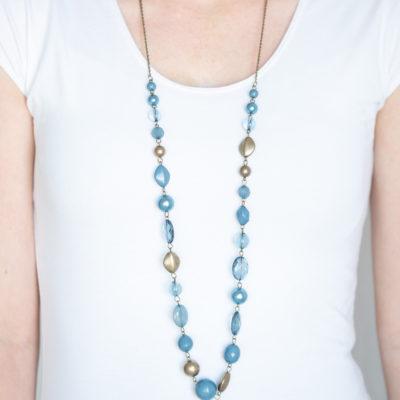 Secret Treasure - Blue - Paparazzi Accessories