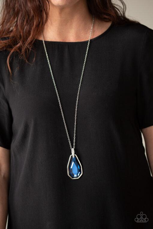 Maven Magic - Blue - Paparazzi Accessories